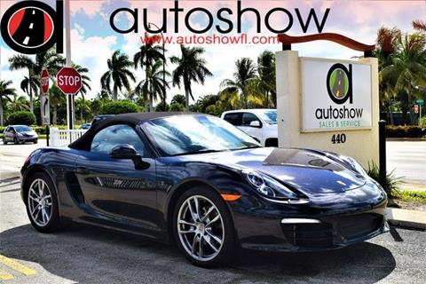 used porsche boxster for sale in florida - carsforsale®