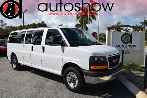 2017 GMC Savana Passenger for sale in Plantation, FL