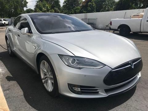 2016 Tesla Model S for sale in Plantation, FL