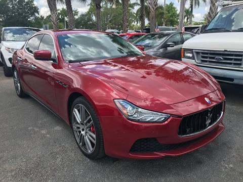 2016 Maserati Ghibli for sale in Plantation, FL