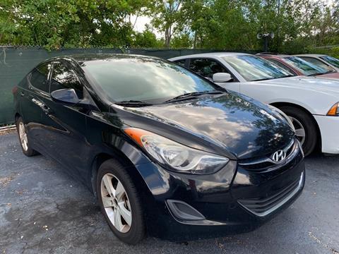 2013 Hyundai Elantra for sale in Plantation, FL