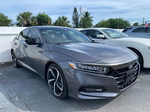 2018 Honda Accord for sale in Plantation, FL