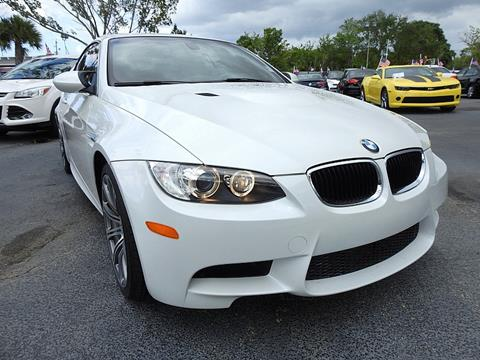 2013 BMW M3 for sale in Plantation, FL