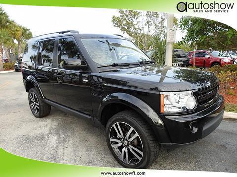 2013 Land Rover LR4 for sale in Plantation, FL