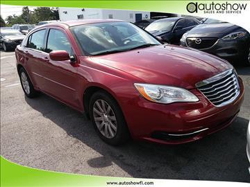 2013 Chrysler 200 for sale in Plantation, FL
