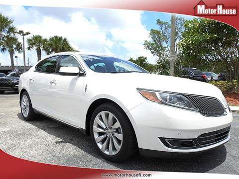 2014 Lincoln MKS for sale in Plantation, FL