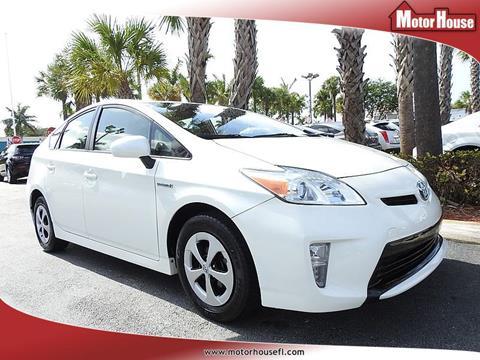 2013 Toyota Prius for sale in Plantation, FL
