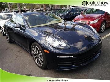2014 Porsche Panamera for sale in Plantation, FL