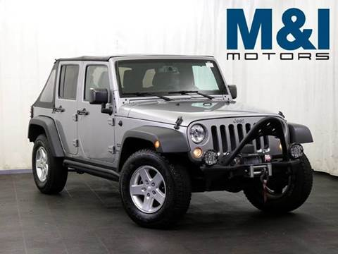 2015 Jeep Wrangler Unlimited for sale in Highland Park, IL