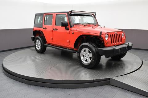 2013 Jeep Wrangler Unlimited for sale in Highland Park, IL