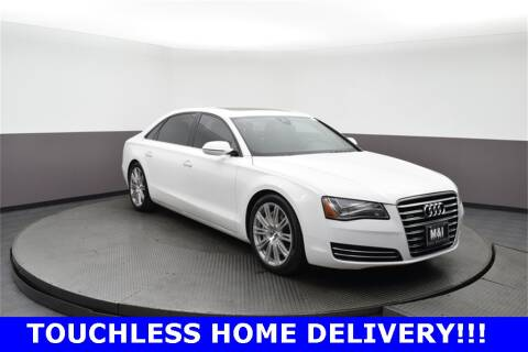 2012 Audi A8 L for sale at M & I Imports in Highland Park IL