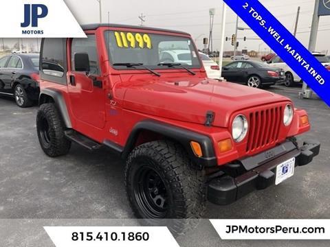 1998 Jeep Wrangler for sale in Peru, IL