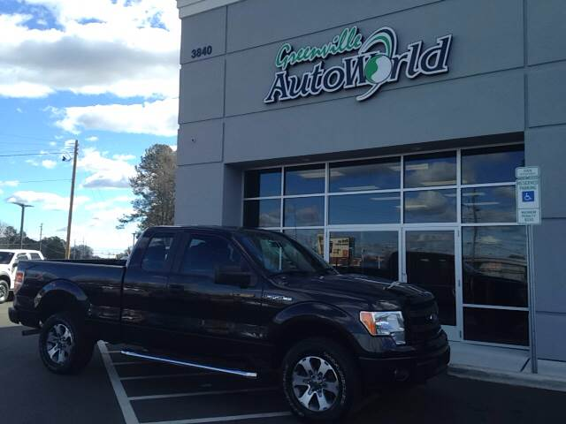 2014 Ford F-150 4x4 XLT 4dr SuperCab Styleside 6.5 ft. SB - Greenville NC