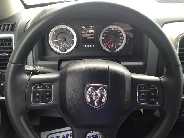 2015 RAM Ram Pickup 1500 4x4 Big Horn 4dr Quad Cab 6.3 ft. SB Pickup - Greenville NC