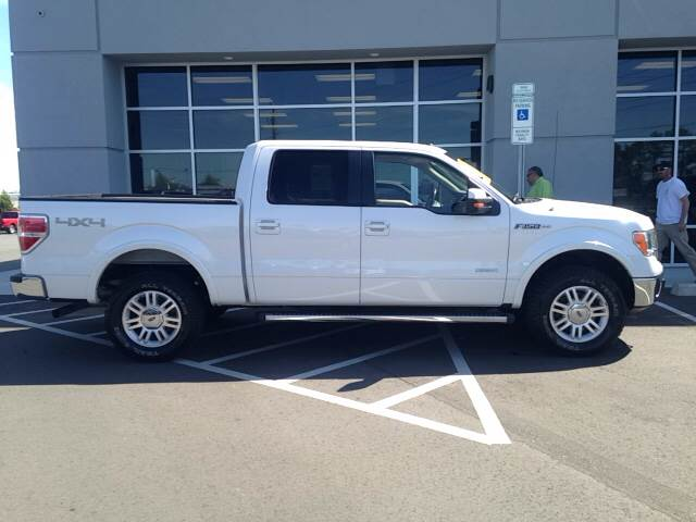 2011 Ford F-150 4x4 Lariat 4dr SuperCrew Styleside 5.5 ft. SB - Greenville NC