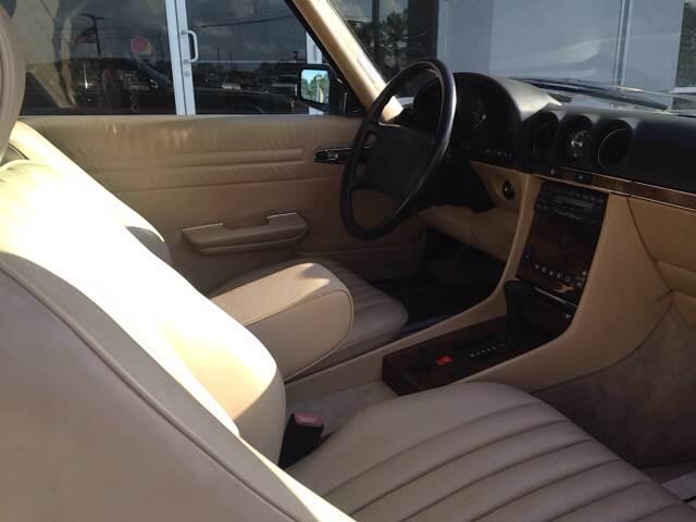 1988 Mercedes-Benz 560-Class 560 SL 2dr Convertible - Greenville NC