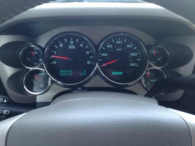2013 Chevrolet Silverado 1500 4x2 LT 4dr Crew Cab 5.8 ft. SB - Greenville NC