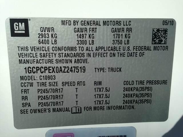 2010 Chevrolet Silverado 1500 4x2 Work Truck 2dr Regular Cab 8 ft. LB - Greenville NC