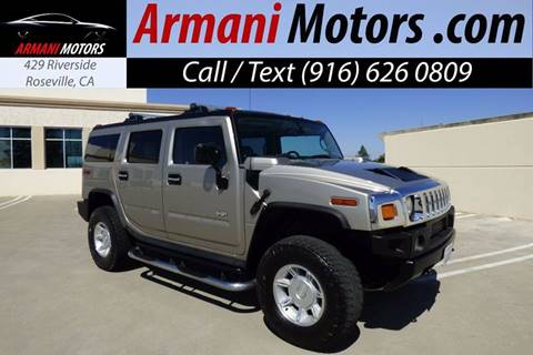 2004 HUMMER H2 for sale in Roseville, CA