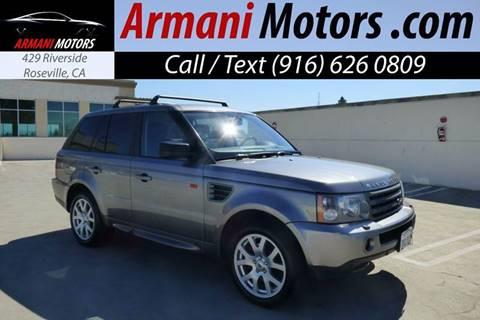 2007 Land Rover Range Rover Sport for sale in Roseville, CA
