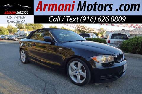 2011 BMW 1 Series for sale in Roseville, CA