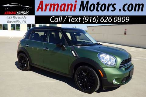 2015 MINI Countryman for sale in Roseville, CA