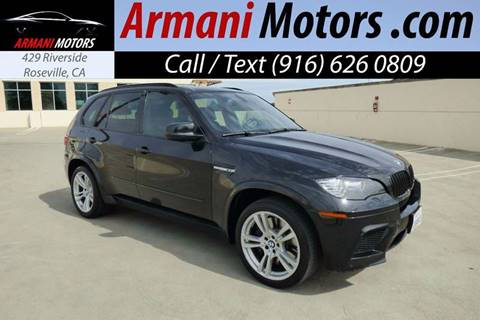 2012 BMW X5 M for sale in Roseville, CA