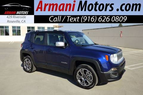 2016 Jeep Renegade for sale in Roseville, CA