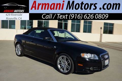 2009 Audi A4 for sale in Roseville, CA