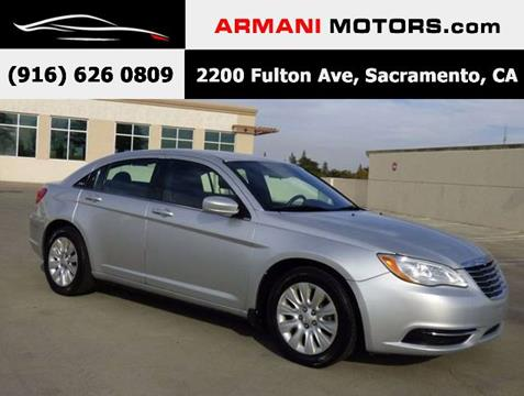 2012 Chrysler 200 for sale in Roseville, CA