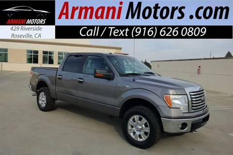 2012 Ford F-150 for sale in Roseville, CA