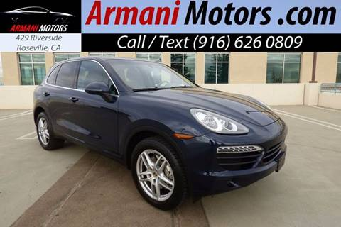 2011 Porsche Cayenne for sale in Roseville, CA