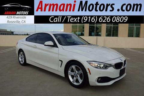 2015 BMW 4 Series for sale in Roseville, CA