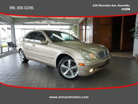 2002 Mercedes-Benz C-Class for sale in Roseville, CA