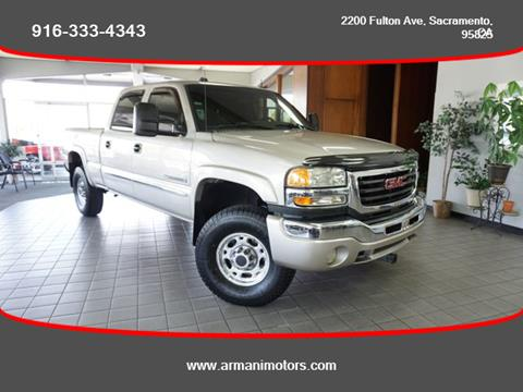 2004 GMC Sierra 2500HD for sale in Roseville, CA