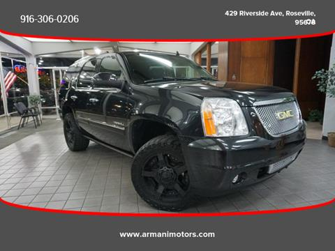 2011 GMC Yukon for sale in Roseville, CA