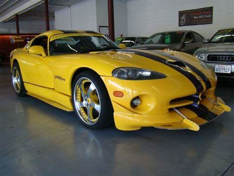 2001 Dodge Viper for sale at Armani Motors in Roseville CA