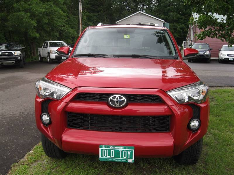 2014 Toyota 4Runner 4x4 SR5 Premium 4dr SUV - South Burlington VT