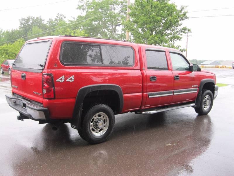 2005 Chevrolet Silverado 2500HD 4dr Crew Cab LT 4WD LB - South Burlington VT