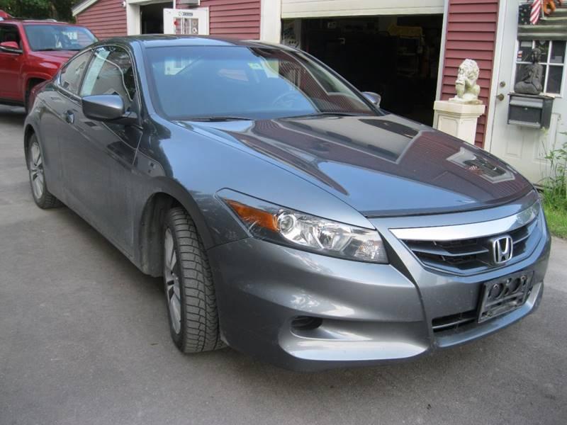 2012 Honda Accord EX 2dr Coupe 5M - South Burlington VT