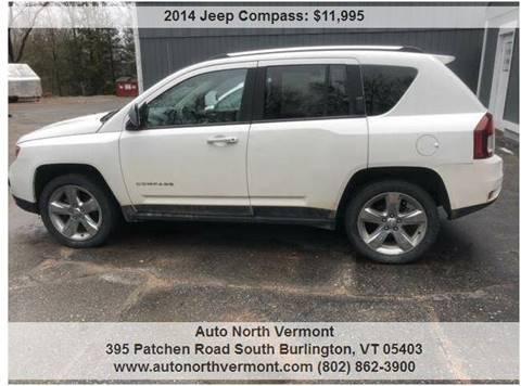 2014 Jeep Compass for sale in South Burlington, VT