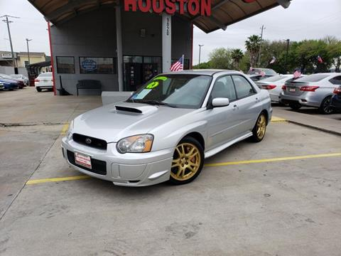 Sti For Sale >> 2004 Subaru Impreza For Sale In Houston Tx