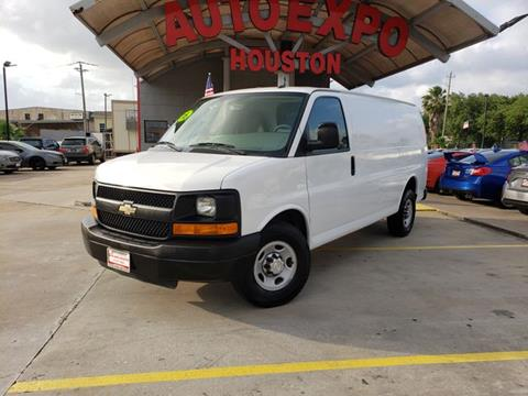 2015 Chevrolet Express Cargo for sale in Houston, TX