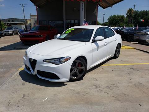 2018 Alfa Romeo Giulia for sale in Houston, TX