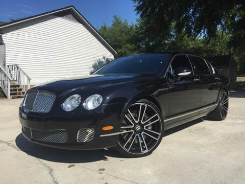 2009 Bentley Continental Flying Spur Speed for sale in Pontiac, SC