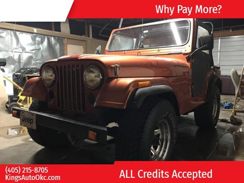 1981 Jeep CJ-5 for sale in Oklahoma City, OK