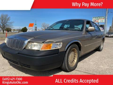 2002 Mercury Grand Marquis LS Premium for sale at KING'S AUTO SALES in Oklahoma City OK