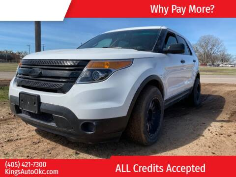 2013 Ford Explorer for sale at KING'S AUTO SALES in Oklahoma City OK