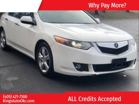 2010 Acura TSX for sale at KING'S AUTO SALES in Oklahoma City OK