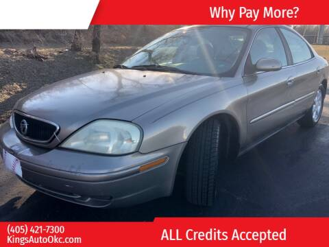 2003 Mercury Sable GS for sale at KING'S AUTO SALES in Oklahoma City OK